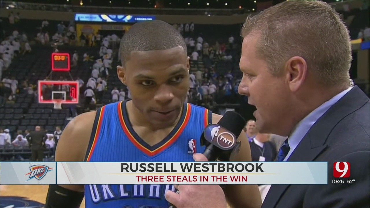 On This Date: Thunder Defeat Grizzlies In Three Overtime Postseason Thriller