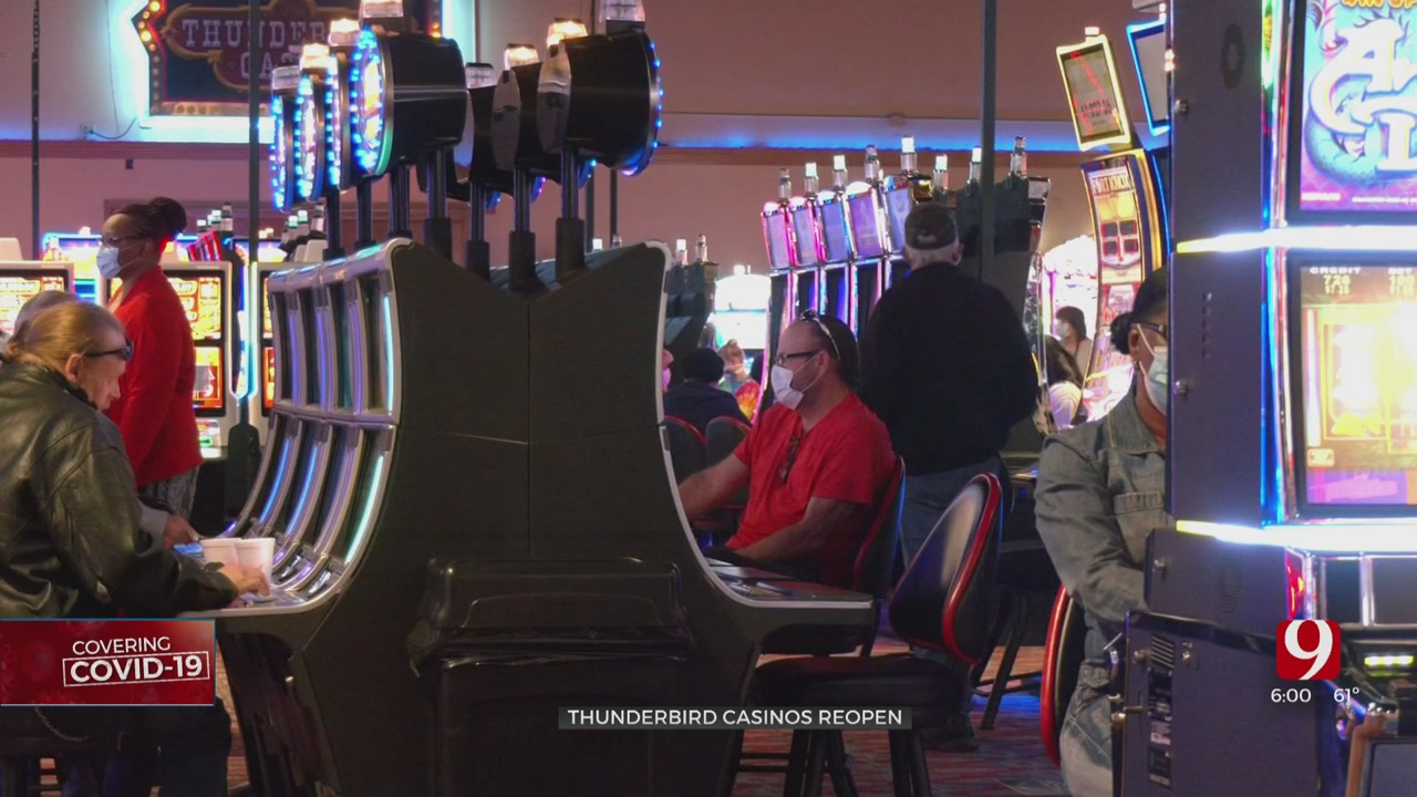 2 More Casinos Reopen in the State Following COVID-19 Closure