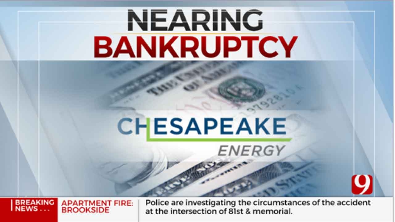 Chesapeake Energy Evaluates Possible Chapter 11 Bankruptcy
