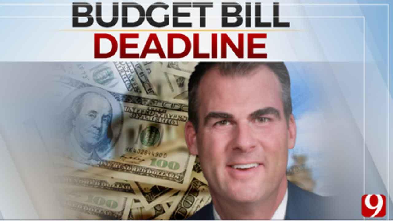 Governor Stitt Still Undecided On State Budget Bill
