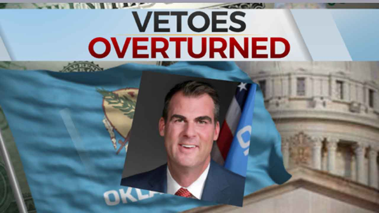 State Legislature Overrides Governor Stitt's Budget Vetoes