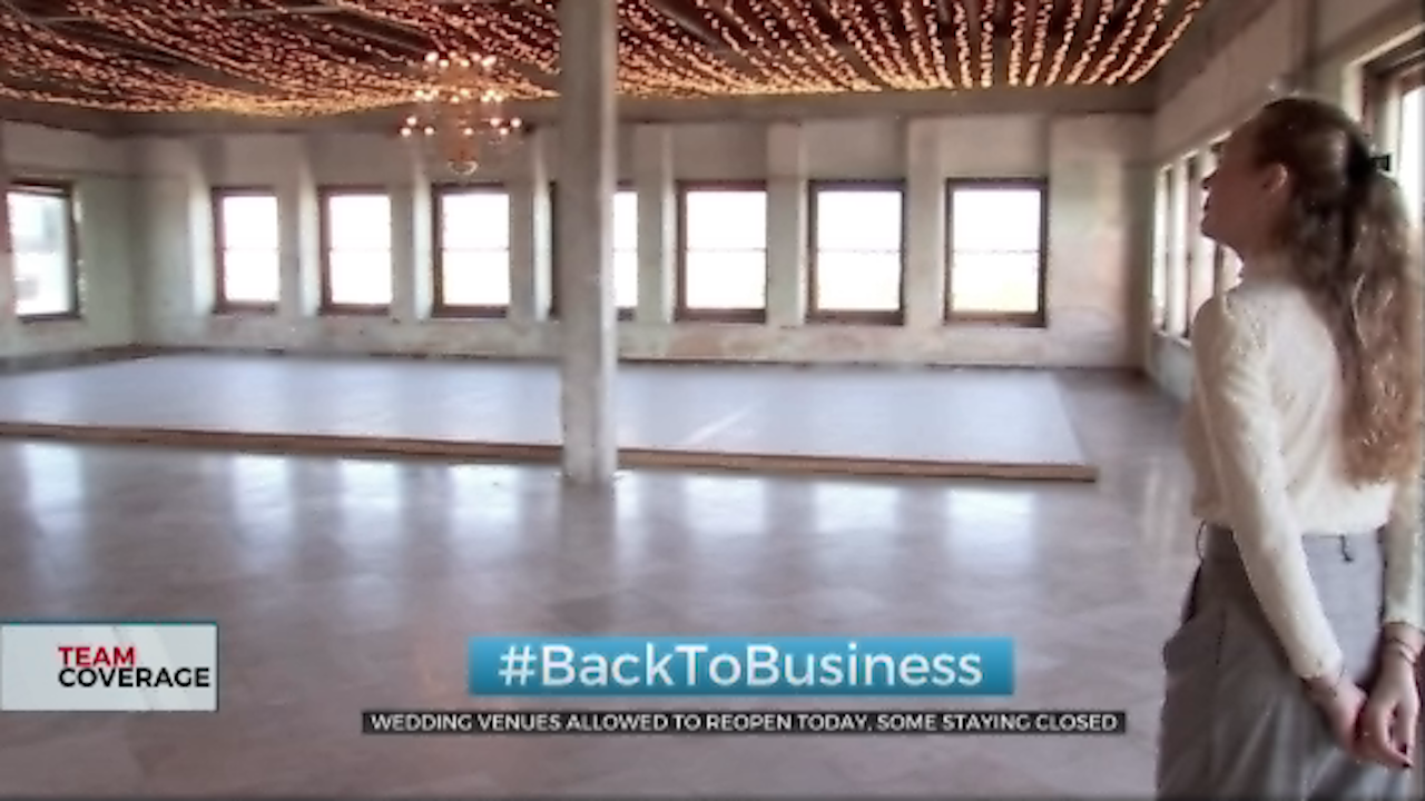 Some Oklahoma Wedding Venues Ready To Reopen, Others Want To Wait