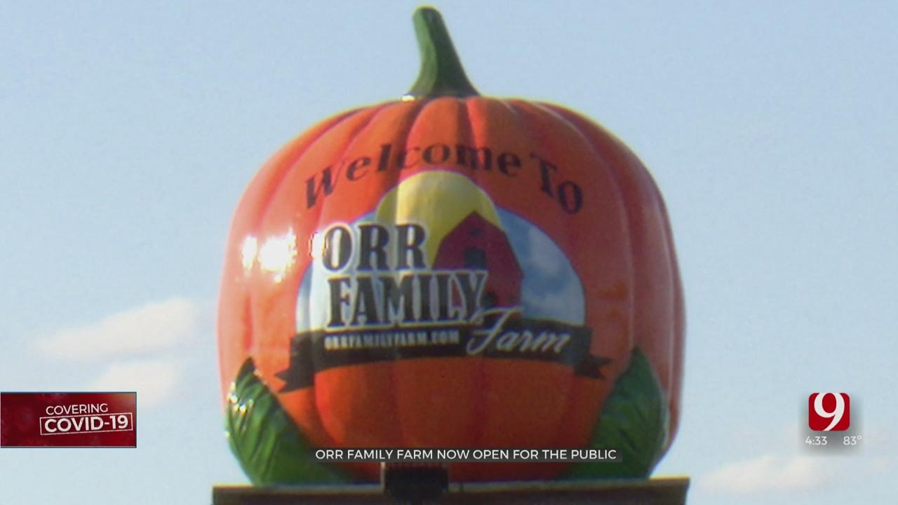 Orr Family Farm Now Open To The Public