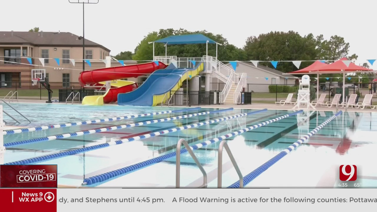 Public Pools And Splash Pads Reopening