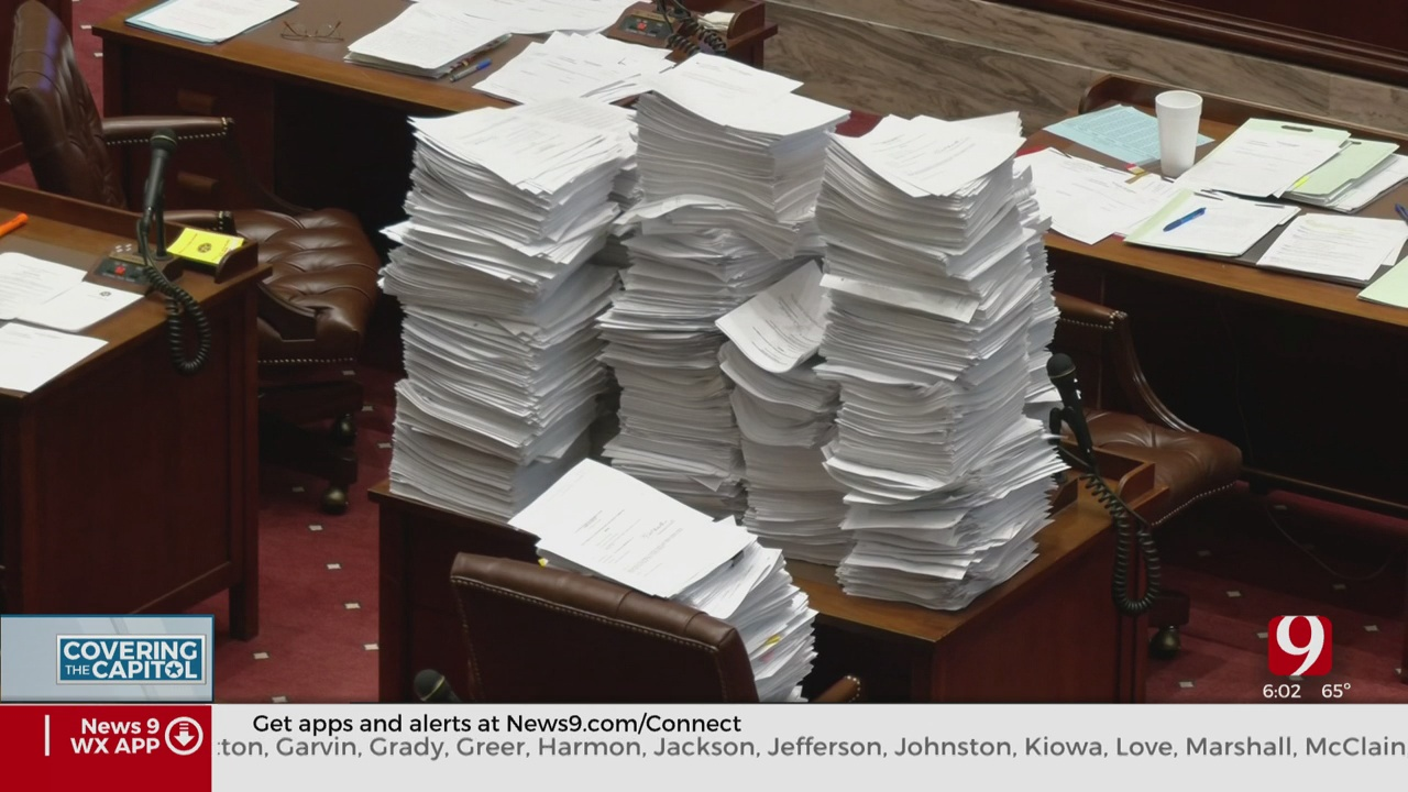 Oklahoma Legislature Tackles Mountain Of Bills To End Session