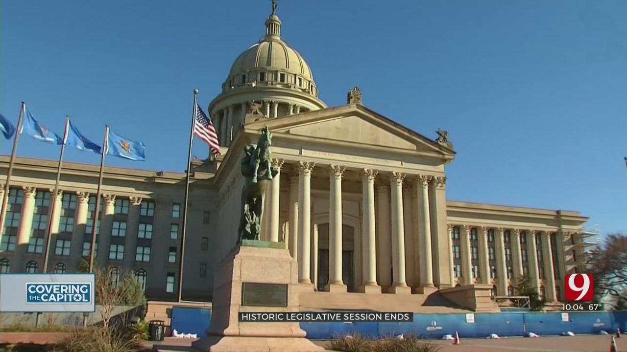 State Lawmakers Adjourn Historic Legislative Session