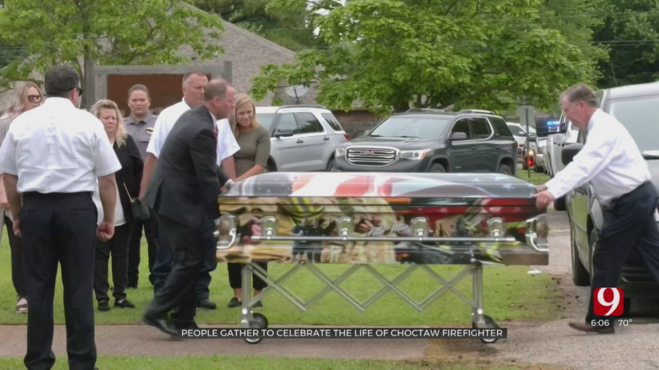 Funeral Held Saturday For Choctaw Firefighter