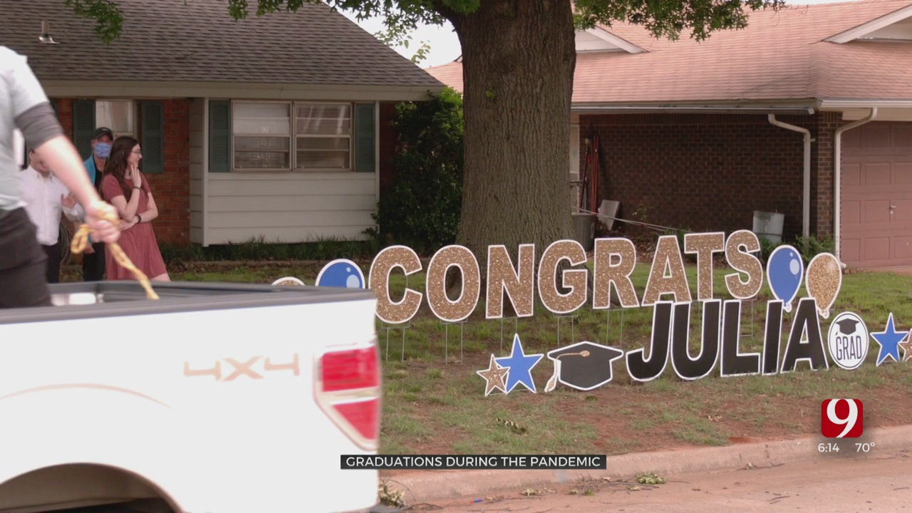 Oklahoma Together: Class Valedictorian Gets A Big Senior Sendoff