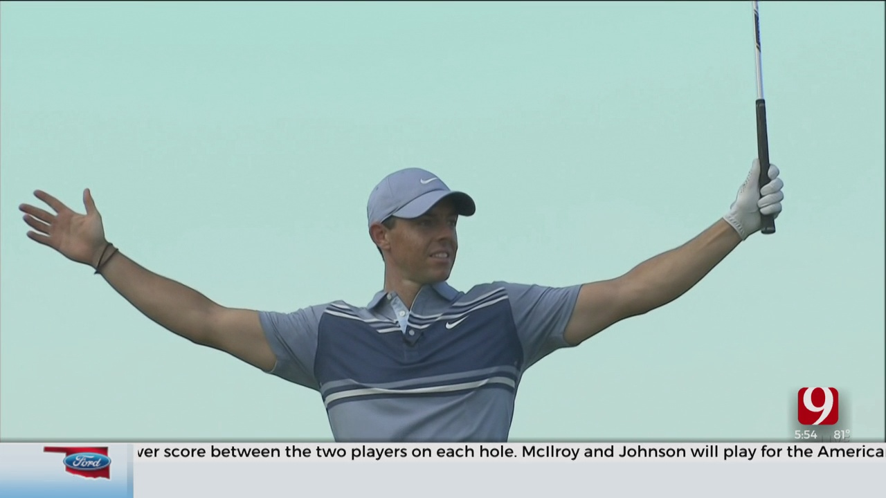 Rory McIlroy And Dustin Johnson Win Charity Skins Game Over Two Former Pokes
