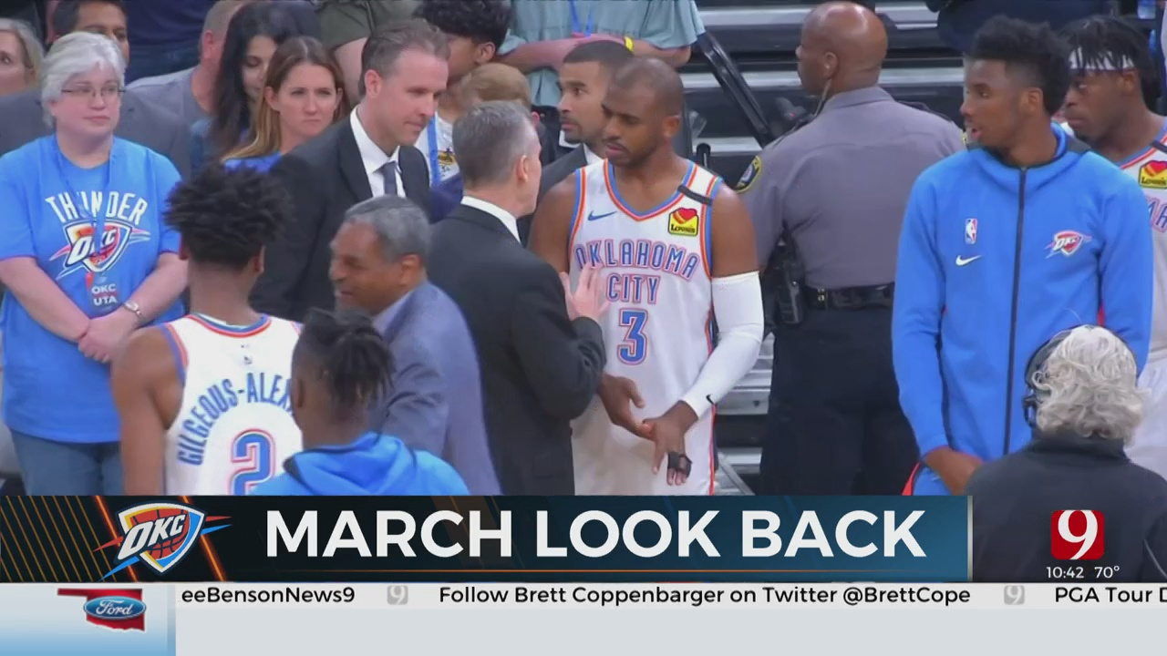 Thunder March Look Back