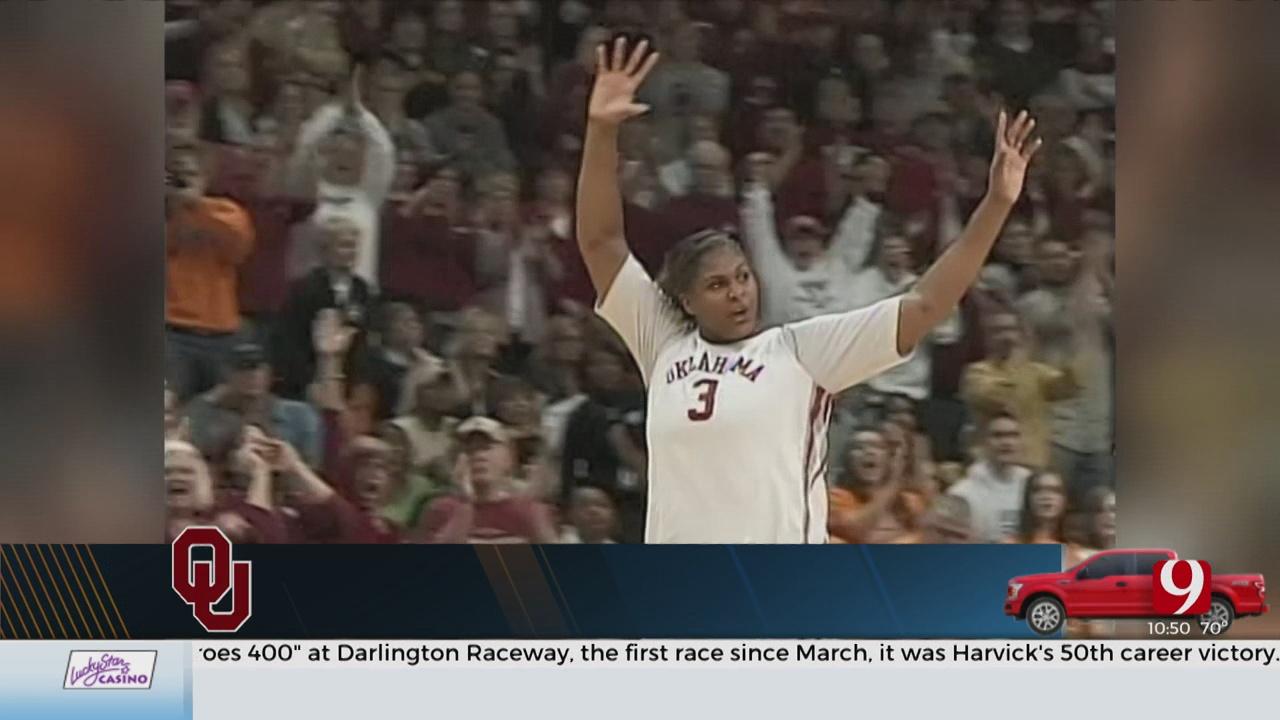 Sooner Legend Courtney Paris Joins OU Women's Basketball Staff