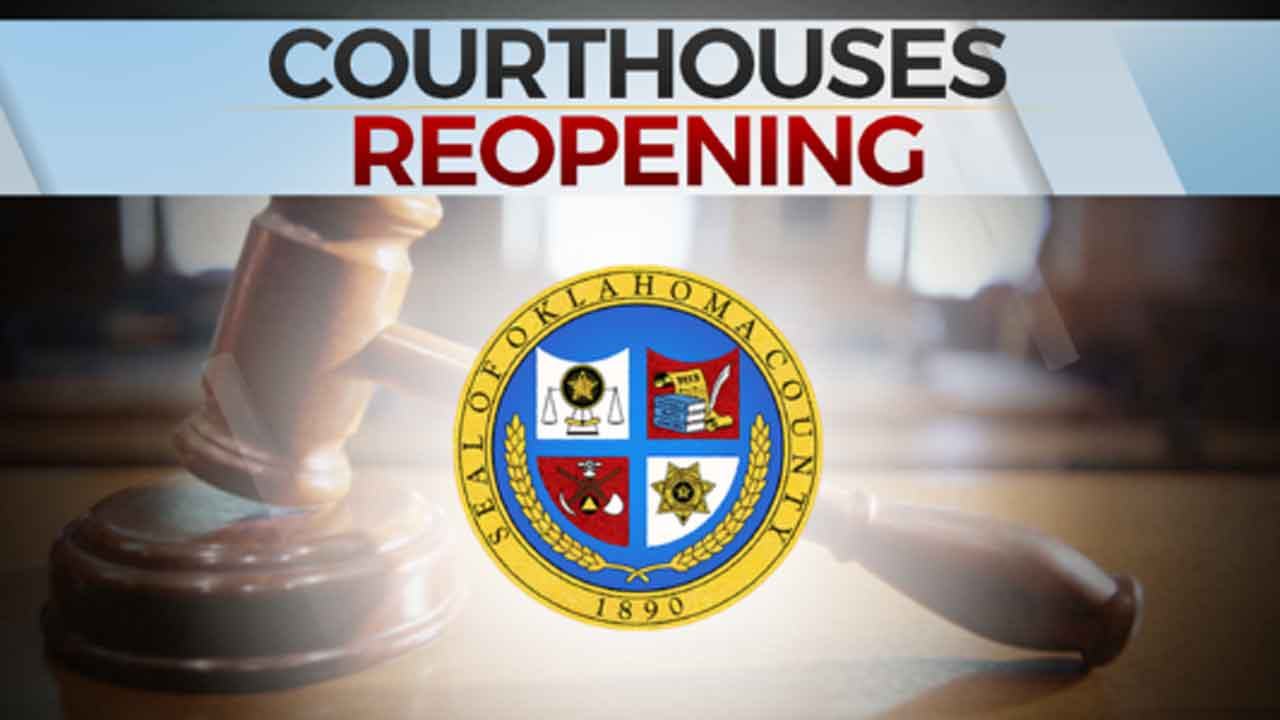 Okla. County Courthouse To Reopen Monday With New Guidelines