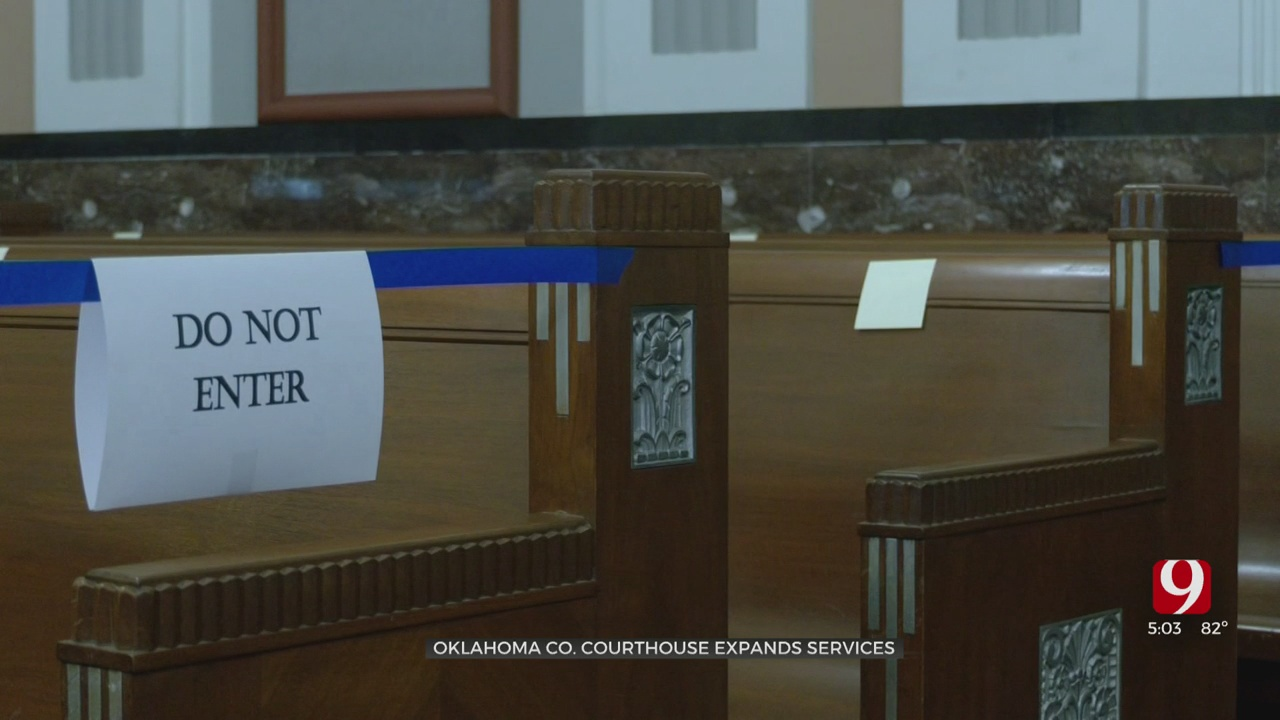 Oklahoma County Courthouse Expands Services to Public