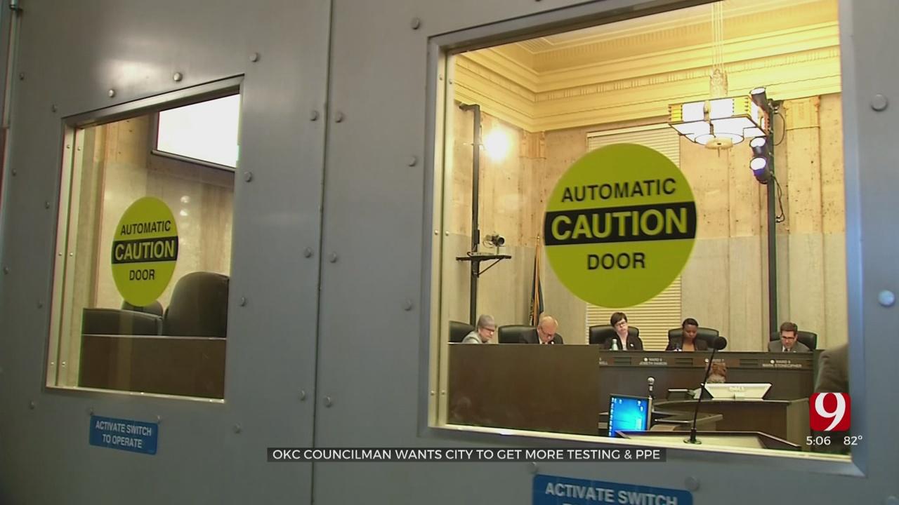 OKC Councilman Wants City To Get More Coronavirus Testing, PPE