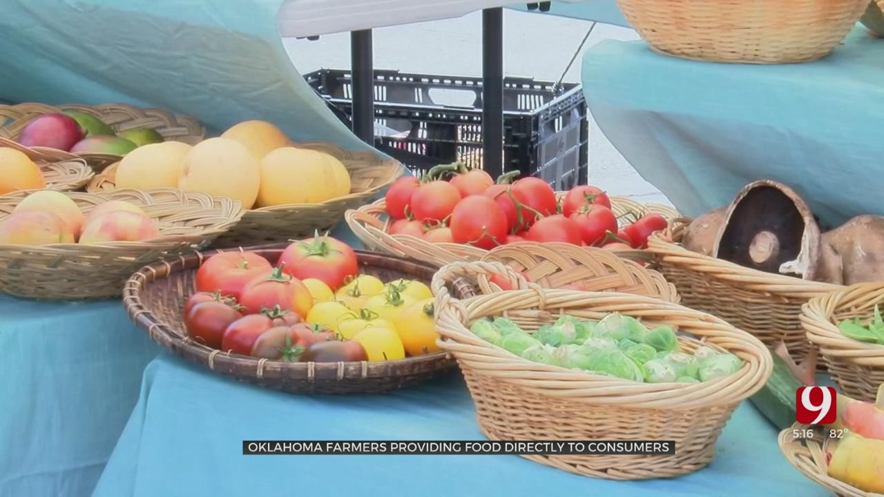 Farm To Food Bank: Oklahoma Farmers Help Provide Fruits, Vegetables Amid COVID-19