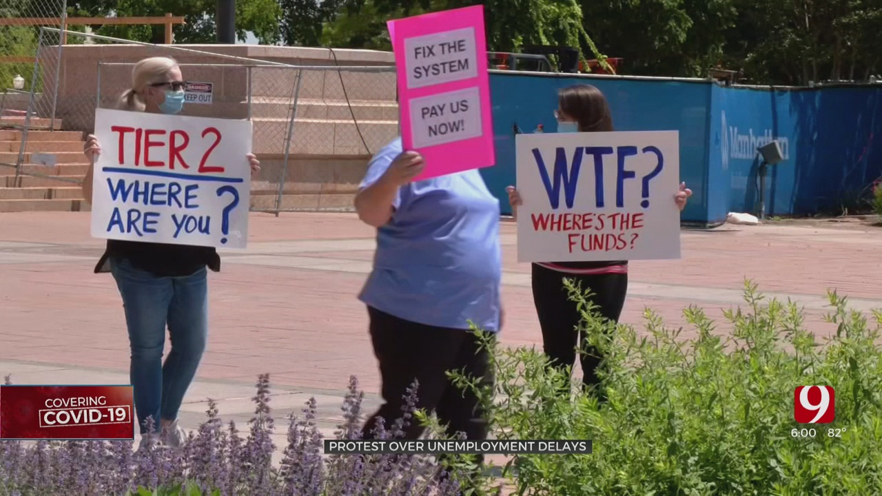Business Owners Rally For Unemployment Benefits At State Capitol