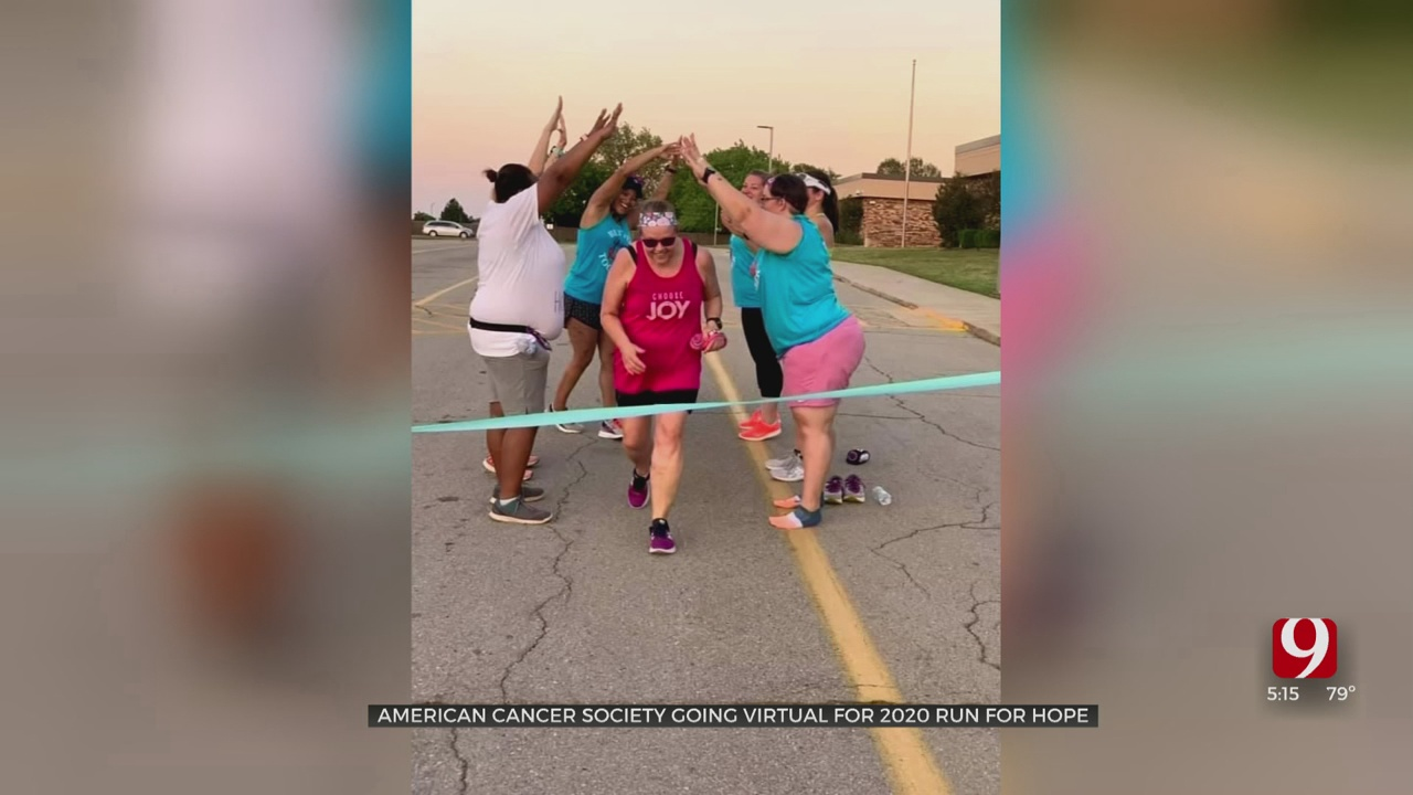 American Cancer Society Going Virtual For 2020 Run For Hope