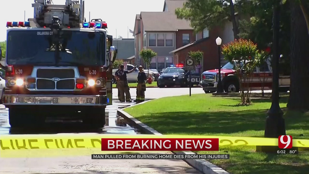 Man In OKC Apartment Fire Dies From Injuries
