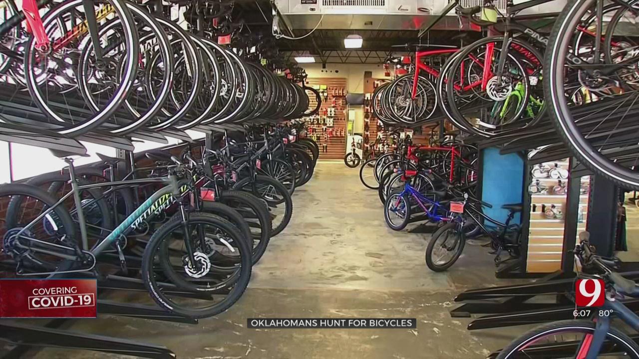Shortage Of Bicycles During Coronavirus Pandemic