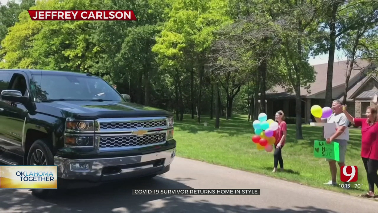73-Year-Old Edmond Woman Survives COVID-19, Arrives Home To Surprise