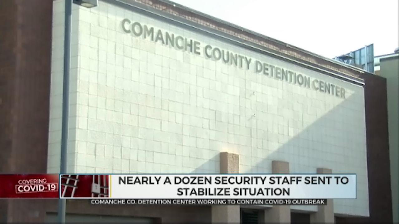 Comanche Co. Detention Center Working To Contain COVID-19 Outbreak
