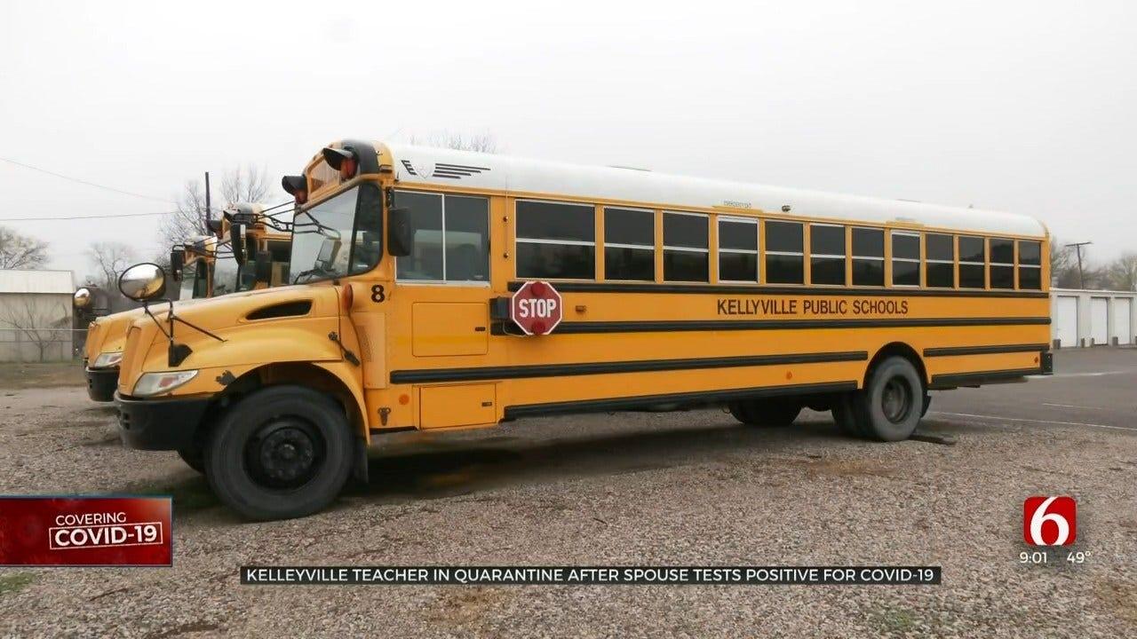 Kellyville School Teacher Quarantined After Spouse Tests Positive For Coronavirus (COVID-19)