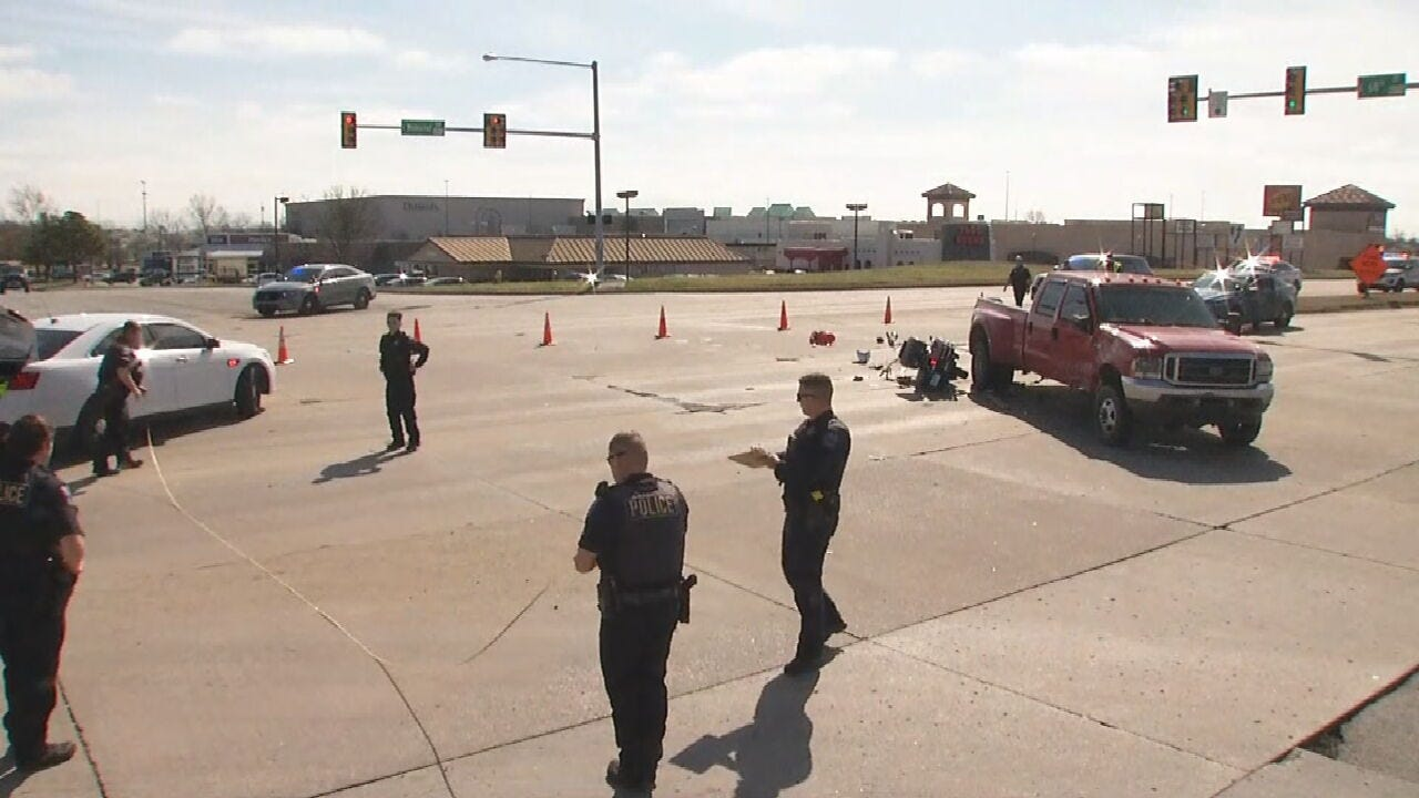 1 In Critical Condition After Dangerous Crash In Tulsa