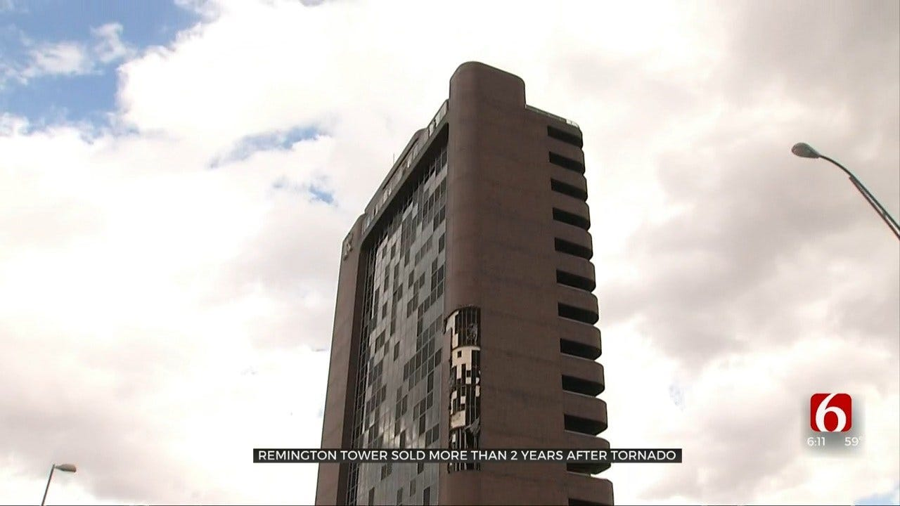 Tulsa's Remington Tower Sold Almost 3 Years After Tornado Strike