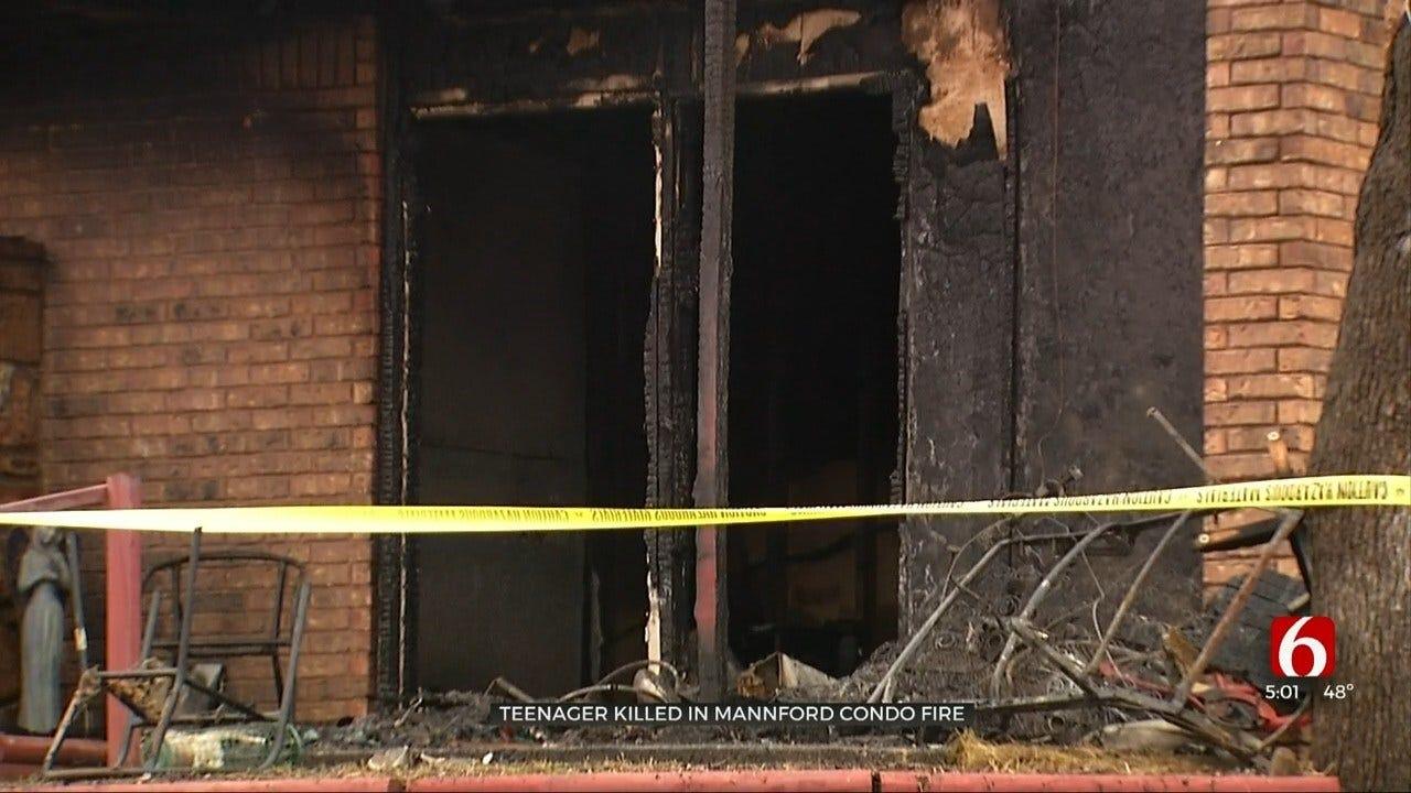 Mannford Teen Dies In Condo Fire