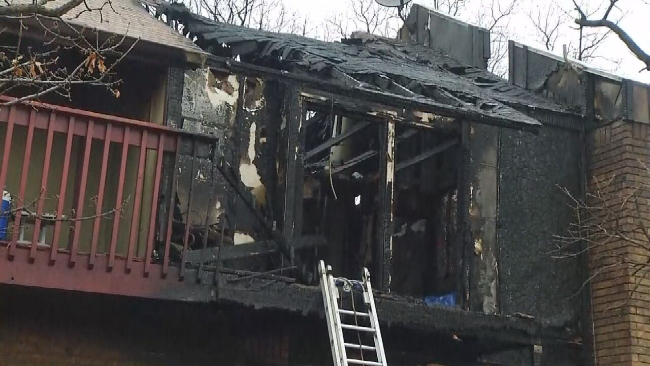 UPDATE: 1 Dead After Mannford Condo Fire, Firefighters Say