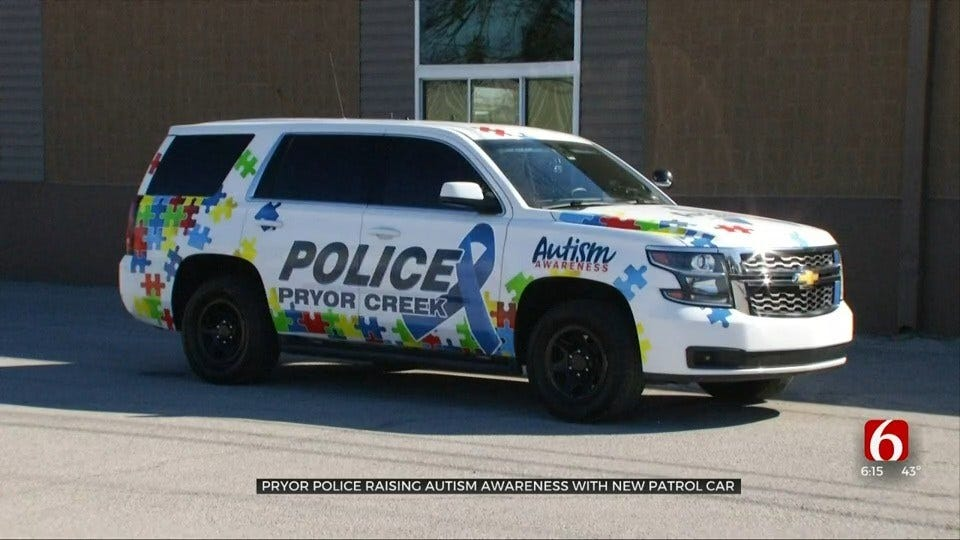 Extended Web Interview: Pryor Police Department Raises Autism Awareness With Police Car