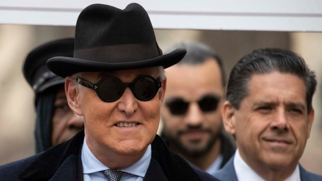Roger Stone Sentenced To 3 Years, 4 Months In Prison For Lying To Congress