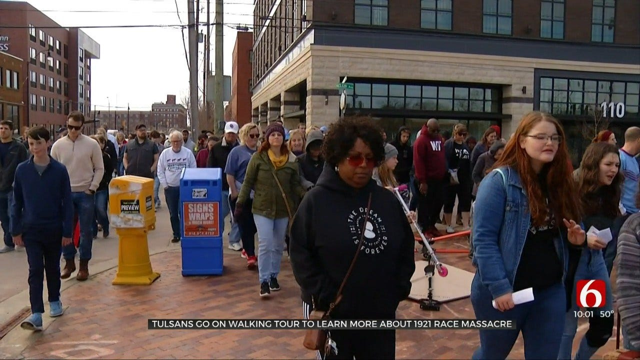 Tulsa School Learns Through Walking Tour Of Race Massacre Sites