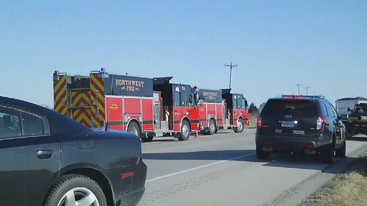 Deadly Crash Closes 169 NB Near 290 Road