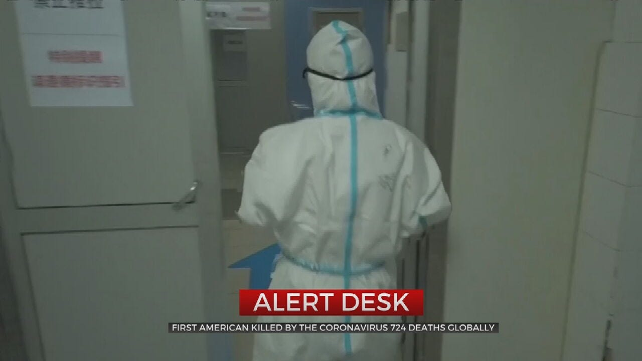 American Dies Of Coronavirus In China, Officials Say