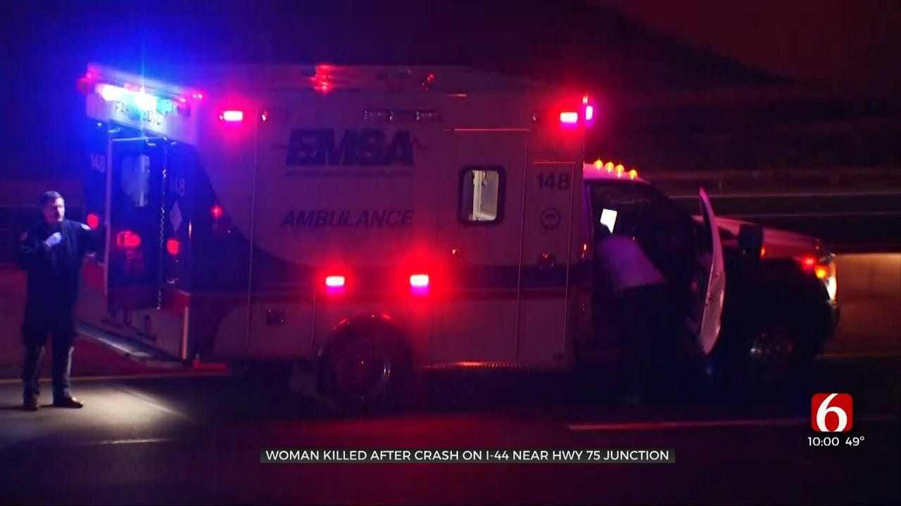 1 Killed In Accident At I-44, US-75 Interchange
