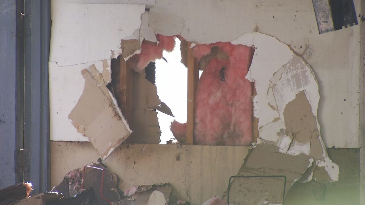 Broken Arrow Family Displaced After Heating Unit Explodes