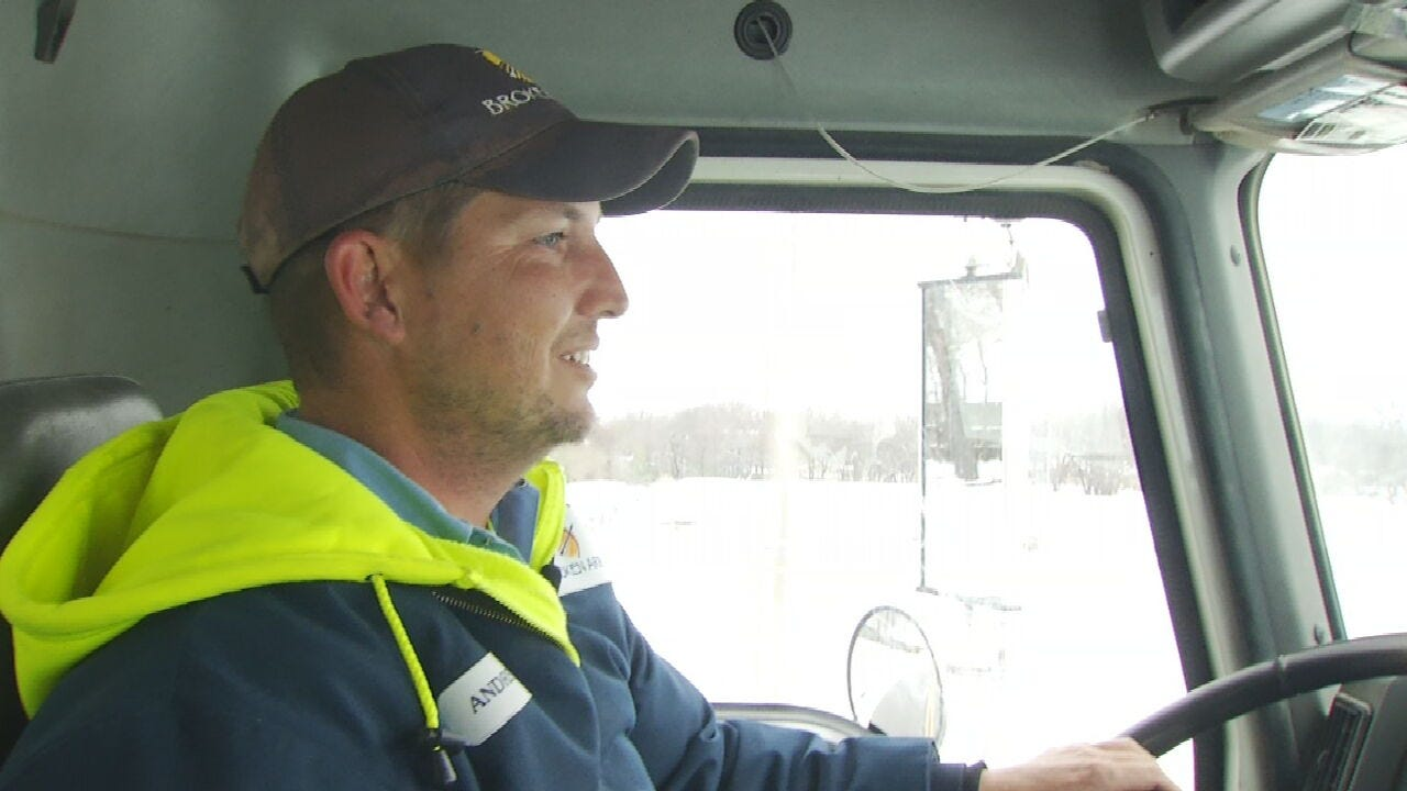 WATCH: City Crews Pulling Long Hours To Keep Oklahomans Safe