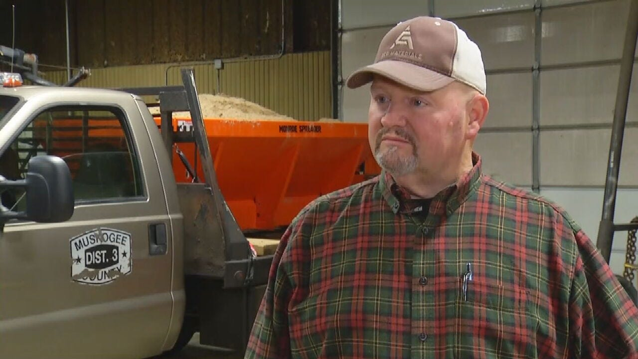 Muskogee County Crews Preparing For Icy Roads