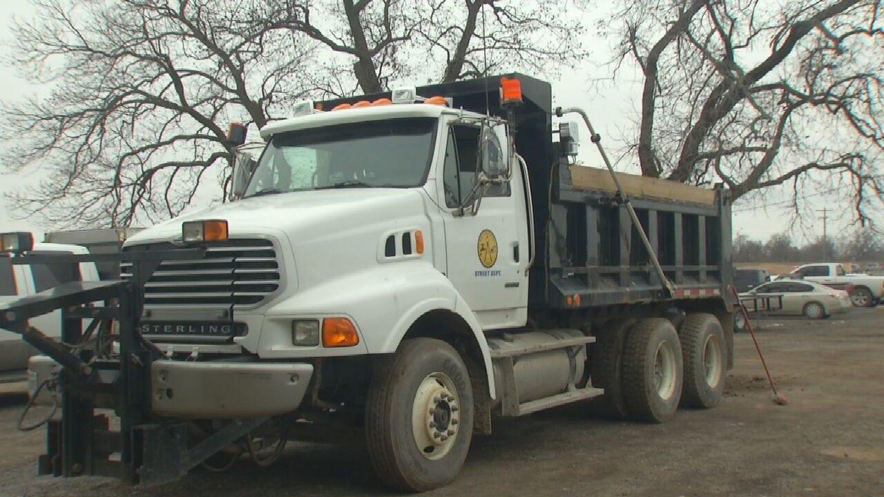 Bixby, Broken Arrow, Owasso City Crews Prepare For Winter Weather