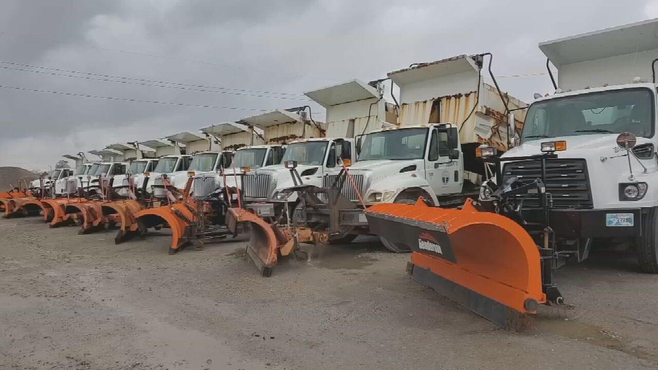 City Crews Prepare To Treat Tulsa Streets For Winter Weather