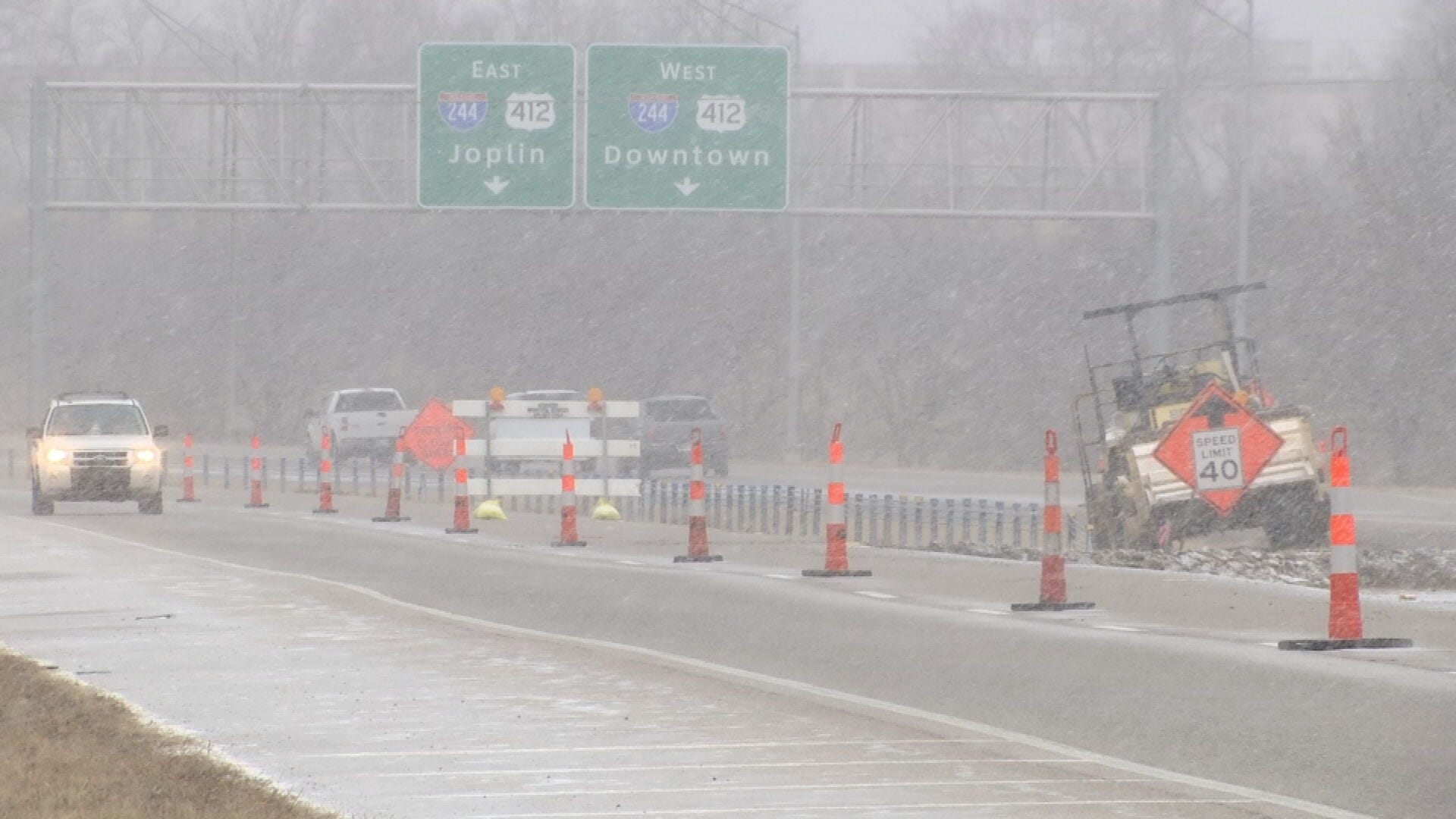ODOT Encouraging Safety During Morning Drive Ahead Of Winter Weather