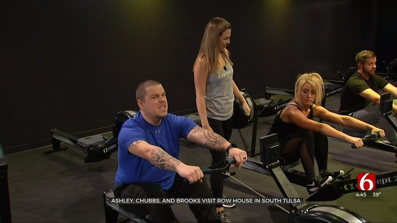 WATCH: Row House Fitness Studio Opening In Tulsa