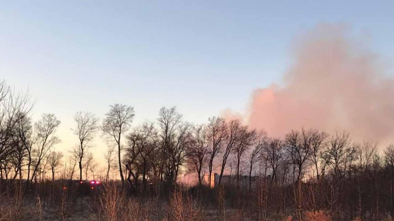 UPDATE: TFD Responds To Mechanic Shop Fire