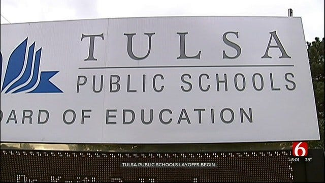 UPDATE: Tulsa Public Schools Notifies 84 Employees Of Layoffs In June