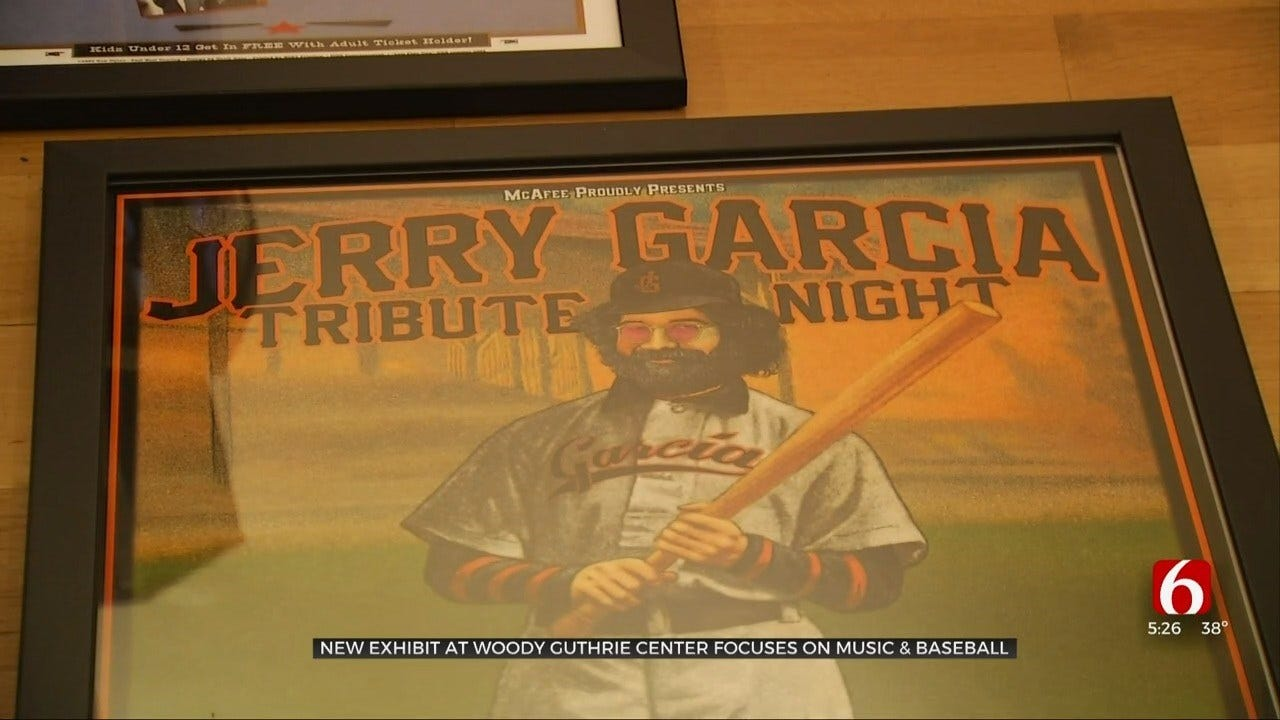 Baseball, Music Combine In New Exhibit At Tulsa's Woody Guthrie Museum