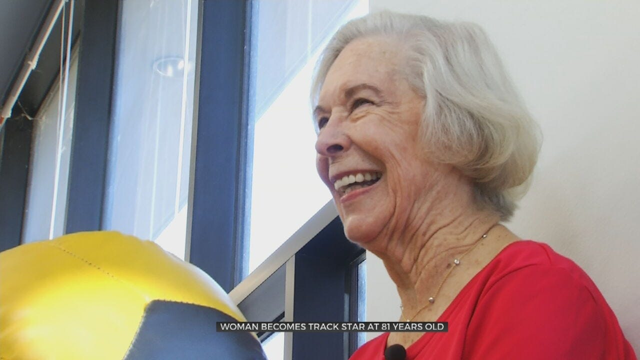81-Year-Old Sprinter Competes Worldwide, Inspires Others