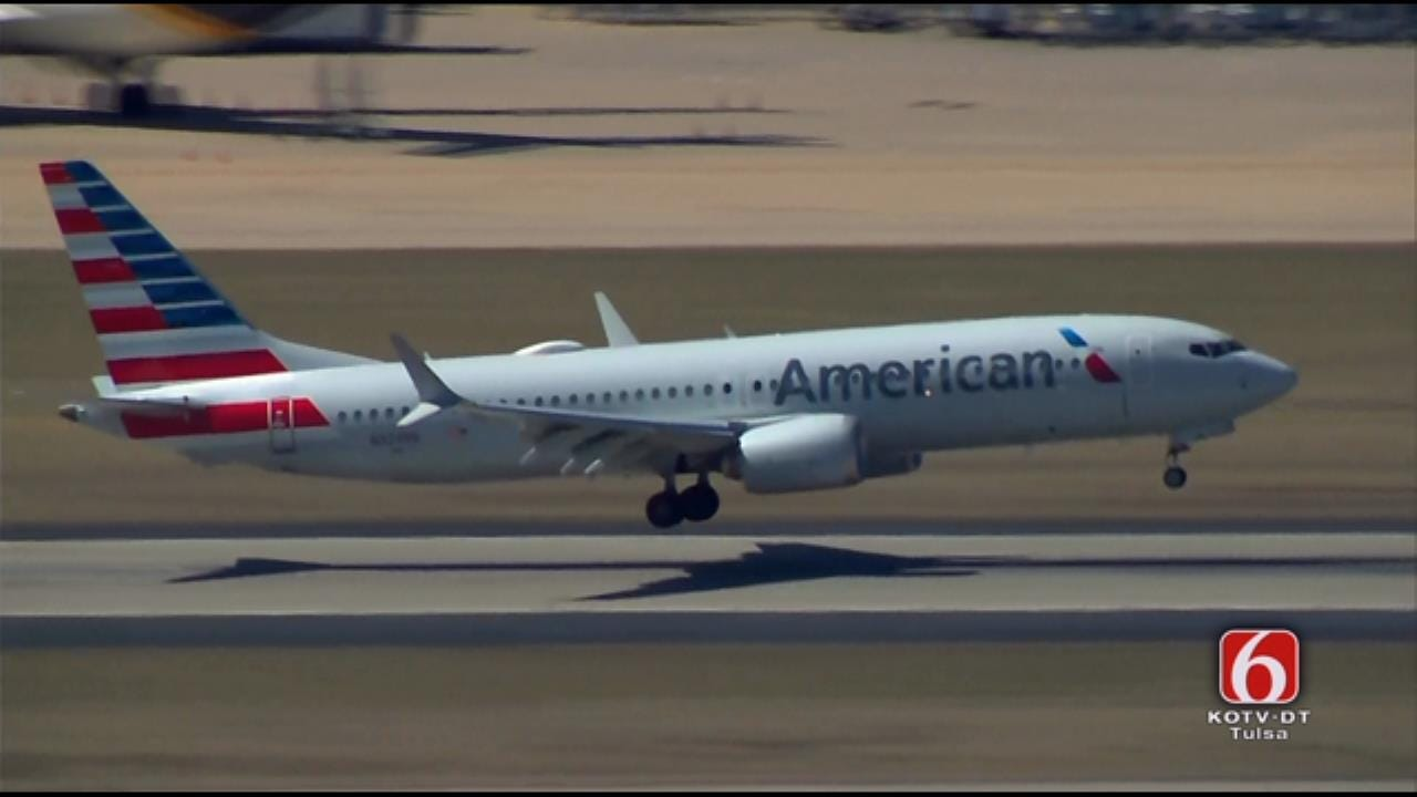 More Boeing 737 MAX 8s Flown To Tulsa