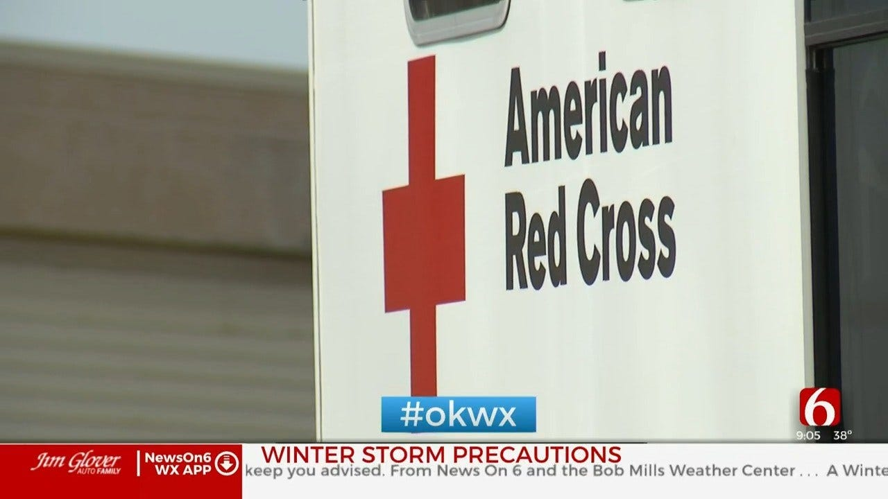 Oklahoma Red Cross Prepares For Winter Weather
