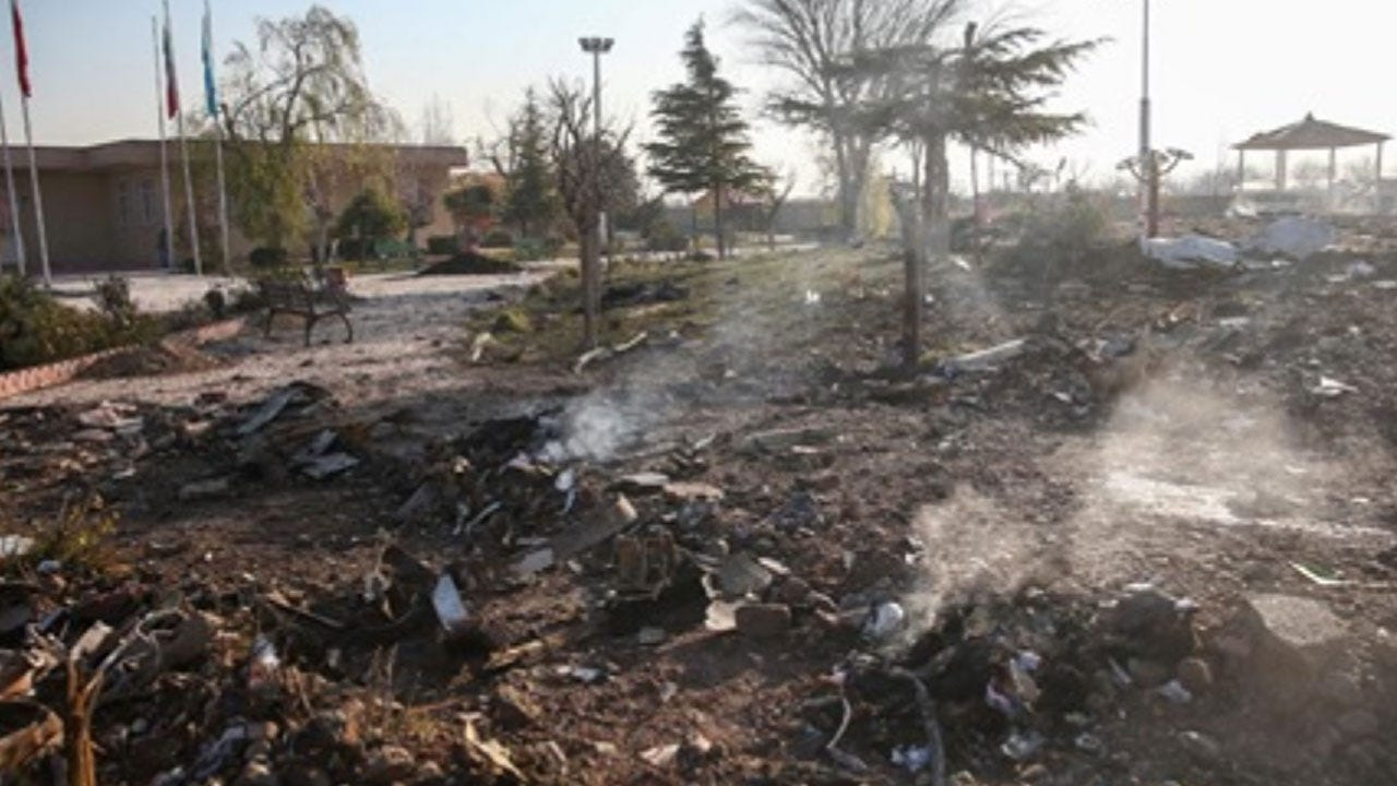 CBS News: U.S. Officials Confident Iran Shot Down Ukrainian Jetliner
